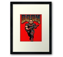 Doom Game Framed Print