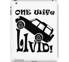 One Life Live It (Parody) iPad Case/Skin