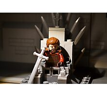 LEGO Lord of Winter Photographic Print