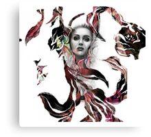 flower girl IIb Canvas Print