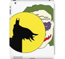 Batman and Joker  iPad Case/Skin