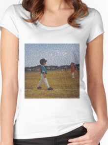 R A B Women's Fitted Scoop T-Shirt