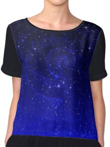 Eye C Stars Chiffon Top