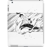manga training illustration iPad Case/Skin