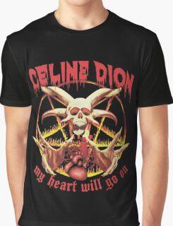 Celine Dion - Death Metal  Graphic T-Shirt