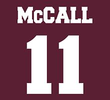 McCall Number 11 Womens Fitted T-Shirt
