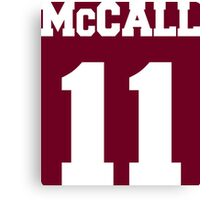 McCall Number 11 Canvas Print