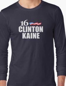 Clinton Kaine 2016 Long Sleeve T-Shirt