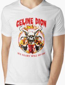 Celine Dion - my heart will go on Mens V-Neck T-Shirt