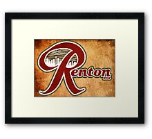 Renton USA Framed Print