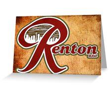 Renton USA Greeting Card