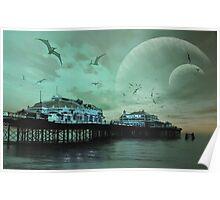 Alien Brighton Poster