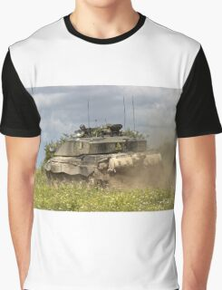 British Army Challenger 2 Main Battle Tank Graphic T-Shirt