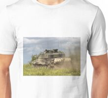 British Army Challenger 2 Main Battle Tank Unisex T-Shirt
