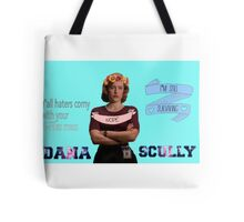 """""""Y'all Haters Corny"""" - Dana Scully Tote Bag"""