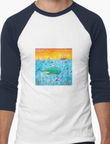 Ocean Abundance Men's Baseball ¾ T-Shirt