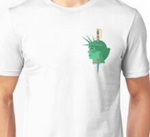Statue of Liberty Flat Design Illustration Unisex T-Shirt
