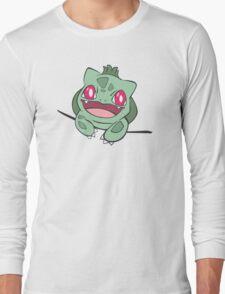 bulbasaur in pocket Long Sleeve T-Shirt