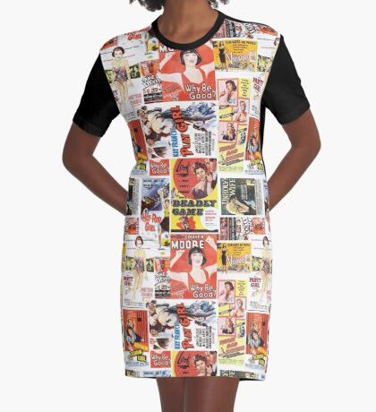Bad Girls and Femme Fatales Graphic T-Shirt Dress