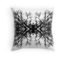Branch Reflection Throw Pillow