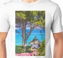 Saint Tropez Massage gazebo, France Unisex T-Shirt