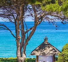 Saint Tropez Massage gazebo, France by Bruno Beach