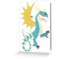 Stormfly Heraldry Greeting Card