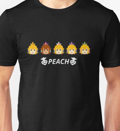 Peach Colors Unisex T-Shirt