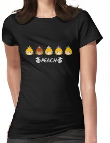 Peach Colors Womens Fitted T-Shirt