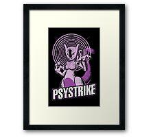 Psystrike Framed Print