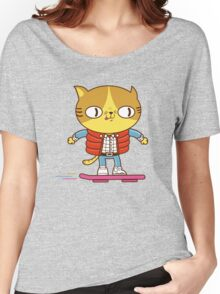 Meowrty CatFly Women's Relaxed Fit T-Shirt