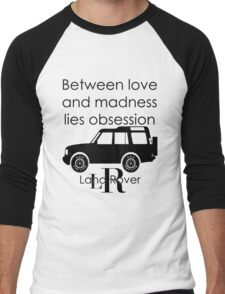 Calvin Klein & Land Rover (Parody) Men's Baseball ¾ T-Shirt