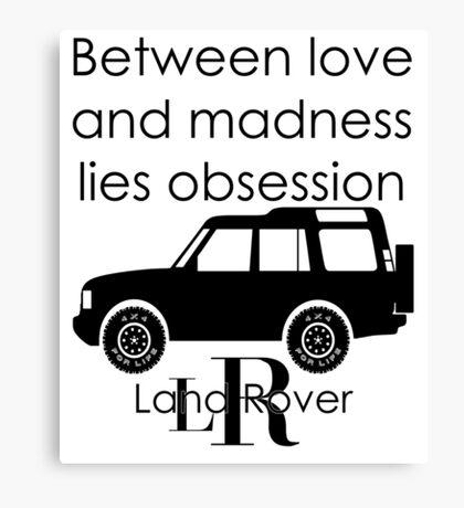Calvin Klein & Land Rover (Parody) Canvas Print