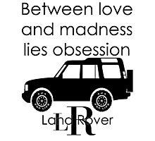 Calvin Klein & Land Rover (Parody) Photographic Print