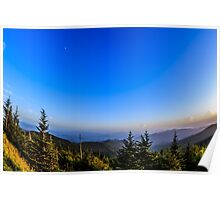 Sunset at Clingman's Dome I Poster