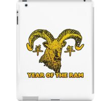 Chinese New Year of The Sheep Goat Ram iPad Case/Skin