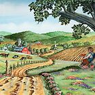 My Farm...(on craft foam) by WildestArt
