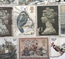 Queen Stamp Stencil  Sticker