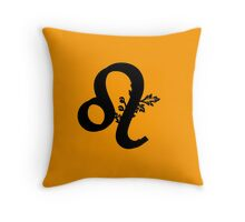Leo Zodiac Birthday Gifts Throw Pillow