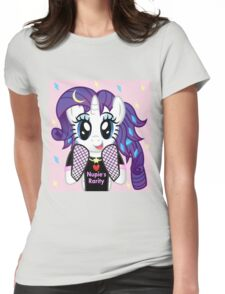 Nupie's Rarity (background)  Womens Fitted T-Shirt