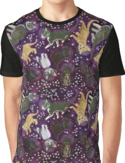 Space Kittens Graphic T-Shirt