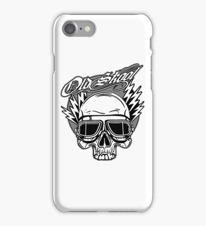 Old Skool Skull Design iPhone Case/Skin