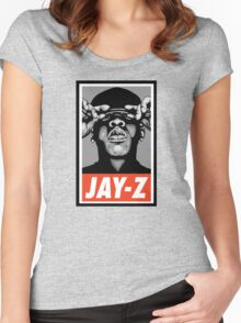 (MUSIC) Jay-Z Women's Fitted Scoop T-Shirt