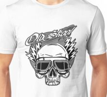 Old Skool Skull Design Unisex T-Shirt