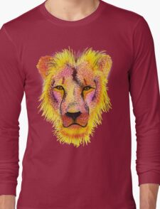 Artsy Lion Long Sleeve T-Shirt