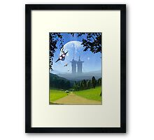 The Road to Pi Framed Print