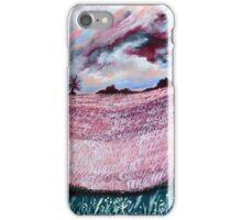 Furrows afar iPhone Case/Skin