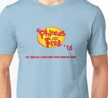 Phineas & Ferb 2016 Unisex T-Shirt