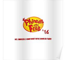 Phineas & Ferb 2016 Poster