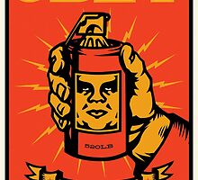 Obey Giant by Golzer